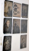 19th.c tintype collection