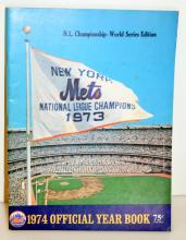 1974 Mets offficial yearbook