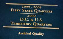 Littleton 2009 state quarter collection/book