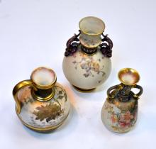 Vintage Doulton vases /handled