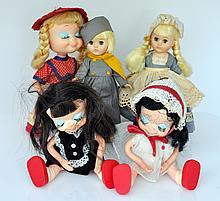 Vintage dolls/Uneeda- Ginny dolls