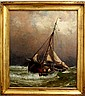 Harry Chase Oil painting seascape marine