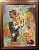 Harry Zee Hoffman Jazz Age Art Deco Painting