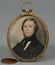 Southern Miniature Portrait of a Gentleman