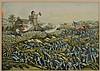 Battle of San Juan Hill Litho, Kurz & Allison