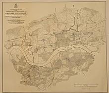 Knoxville Civil War Map, Poe