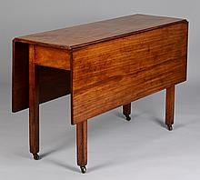 Chippendale Drop Leaf Table, circa 1800