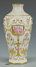 Royal Vienna Vase, jeweled decor