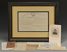 Group of 8 Civil War Documents & Ephemera