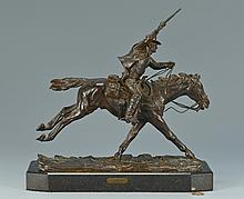 Harry Jackson Bronze, The Marshall III