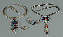 4 Native American Jewelry Items