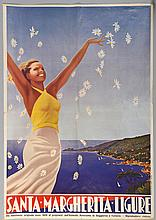 Travel Poster: Santa Margherita Ligure Italy