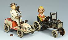 2 Mechanical Car Toys