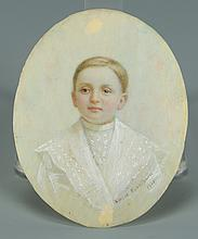 American Miniature, signed