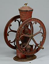 Elgin National Cast Iron Coffee Mill