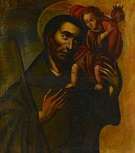 Manner of El Greco, Saint with Child
