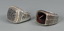 2 David Yurman Men's rings