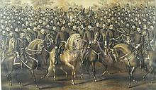 ANTIQUE 1887 CIVIL WAR ENGRAVING