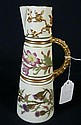 ROYAL WORCHESTER HAND PAINTED JUG