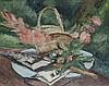 André DUNOYER DE SEGONZAC (1884-1974) . «Les glaïeuls, circa 1935». Huile sur toile . Signée en haut à droite . 65 x 81 cm . Etiquette d'exposition au dos. . Bibliographie : A rapprocher de l'aeuvre de même sujet reproduite p.183 dans Paul Jamot.
