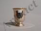 Timbale en argent uni à piédouche godronné, le corps gravé Marie Tourmo.. Tours 1774.. Poids : 89 g. Haut.: 8,5 cm.