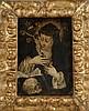 Ecole ITALIENNE du XVIIème siècle, d'après Cristofano ALLORI. «Sainte Catherine de Sienne». Cuivre . 20,5 x 15,5 cm. Expert: R. MILLET