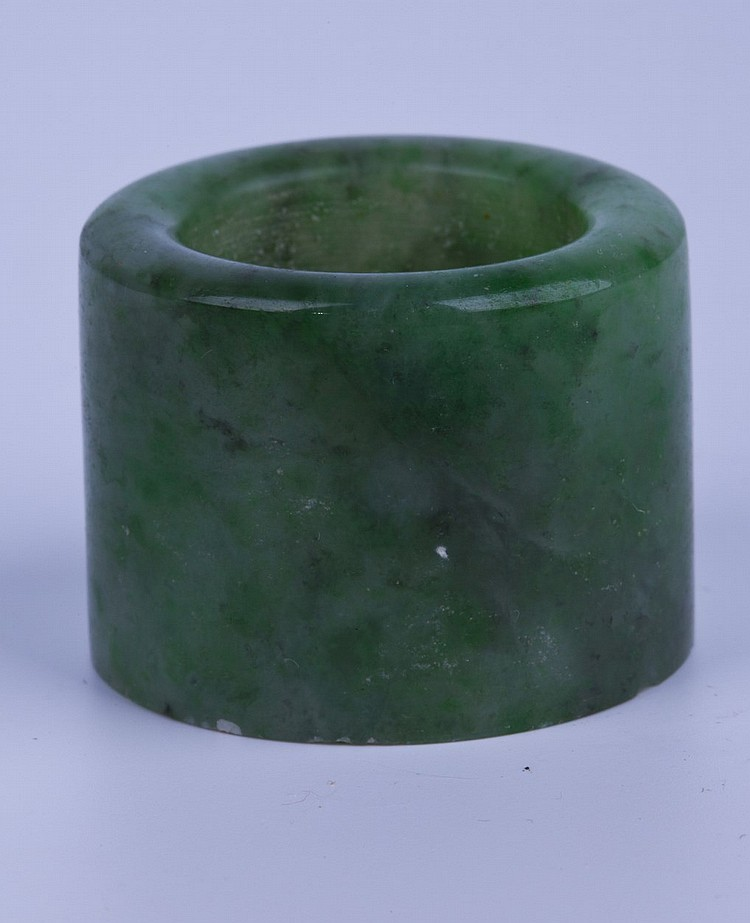 Chinese Ancher Jade Ring