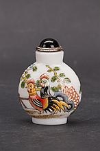 White Porcelain Snuff Bottle