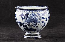 Chinese White and Blue Ceramics
