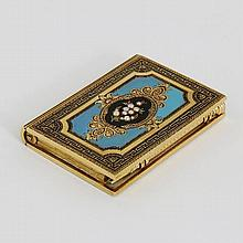A mid 19th Century French aide-memoire, the front