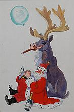 John Gilroy (ARR)/Father Christmas with  Cigar Smo
