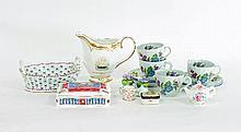 A quantity of decorative ceramics including Royal