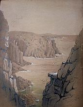 19th Century English School/Landscape Drawings of