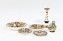 A collection of Royal Crown Derby, Imari pattern,