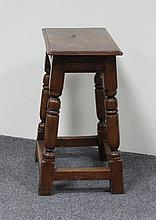 A Queen Anne style single chair and a 17th Century