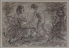 Gerald Ososki/Adam and Eve/signed and dated G.