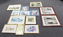 A quantity of prints, photographs and drawings