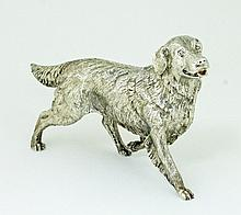 A silver model of a retriever, BSEP, London 2008,