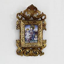 16th/17th Century Italian School/Mary, Jesus and