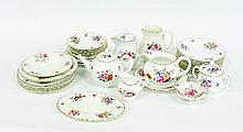 A Royal Worcester Roanoke pattern part tea