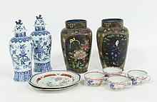 A pair of late 18th Century Chinese famille rose