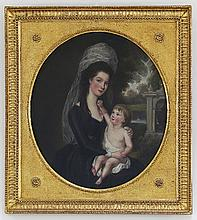 18th Century English School/Portrait of a Young