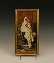G. Bertini, Italian School, Porcelain Wall Plaque