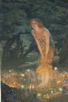 EDWARD ROBERT HUGHES, R.W.S. (BRITISH, 1851-1914) MIDSUMMER EVE