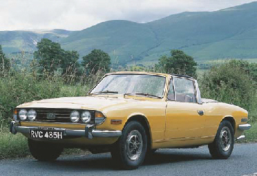 1970 TRIUMPH STAG ROADSTER FROM