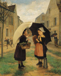 Andre Henri Dargelas (French, 1828-1906)
