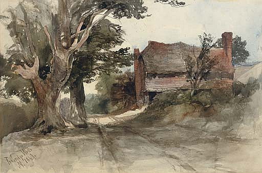 An old cottage at Tunbridge Wells, Kent