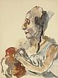 Die Schauspielerin, Oskar Kokoschka, Click for value