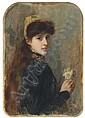 Portrait of a Young Girl, Henri Gervex, Click for value
