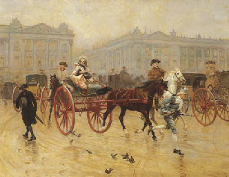 Charles-Edouard Delort (French, 1841-1985)